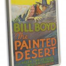 The Painted Desert 1931 Vintage Movie Framed Canvas Print