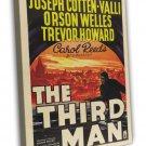 The Third Man 1949 Vintage Movie Framed Canvas Print