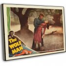 The Wolf Man 1941 Vintage Movie Framed Canvas Print 12