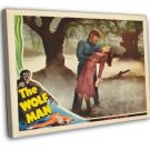 The Wolf Man 1941 Vintage Movie Framed Canvas Print 7