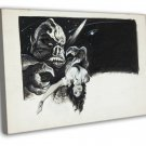 It The Terror From Beyond Space 1958 Vintage Movie FRAMED CANVAS Print