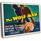 The Wolf Man 1941 Vintage Movie Framed Canvas Print 5