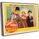 Sons Of The Desert 1933 Vintage Movie FRAMED CANVAS Print 10
