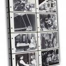 James Dean In East Of Eden 1955 Vintage Movie FRAMED CANVAS Print