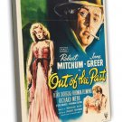 Out Of The Past 1947 Vintage Movie Framed Canvas Print 2