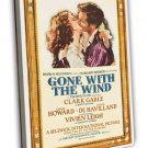 Gone With The Wind 1939 Vintage Movie FRAMED CANVAS Print 2