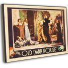 The Old Dark House 1932 Vintage Movie Framed Canvas Print 11