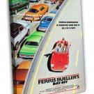 Ferris Bueller S Day Off 1986 Vintage Movie FRAMED CANVAS Print 2