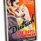 The Devil Is A Woman 1935 Vintage Movie FRAMED CANVAS Print