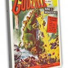Godzilla 1956 Vintage Movie Framed Canvas Print 15