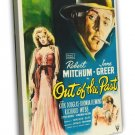 Out Of The Past 1947 Vintage Movie Framed Canvas Print