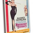 Breakfast At Tiffany S 1961 Vintage Movie FRAMED CANVAS Print 6
