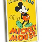 Mickey Mouse Stock Poster 1935 Vintage Movie FRAMED CANVAS Print 10