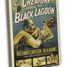 Creature From The Black Lagoon 1954 Vintage Movie FRAMED CANVAS Print 9