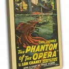 The Phantom Of The Opera 1925 Vintage Movie FRAMED CANVAS Print 2