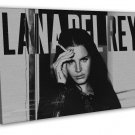 Lana Del Rey Music Star Art 20x16 Framed Canvas Print Decor