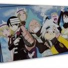Soul Eater Japanese Manga Anime Art 20x16 FRAMED CANVAS Print Decor