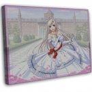 Princess Lover Anime Wall Decor 20x16 Framed Canvas Print