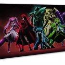 Akame Ga Kill Anime Wall Decor 20x16 Framed Canvas Print