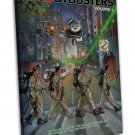 Ghostbusters Vintage Movie Wall Decor 20x16 FRAMED CANVAS Print