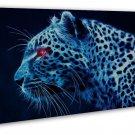 Cheetah Art Animal Wall Decor 20x16 Framed Canvas Print