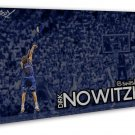 Dirk Nowitzki Basketball Star Art 20x16 FRAMED CANVAS Print Decor