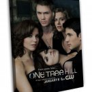 One Tree Hill Tv Show Art 20x16 Framed Canvas Print Decor