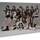 AKB48 Girl Idol Group Art 20x16 Framed Canvas Print Decor