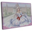 Princess Lover Anime Art 20x16 Framed Canvas Print Decor