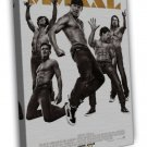Magic Mike Xxl Movie 2015 Art 20x16 Framed Canvas Print Decor