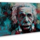 Albert Einstein Physicist Art 20x16 FRAMED CANVAS Print Decor