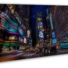 New York Ny City Landscape Art 20x16 Framed Canvas Print Decor