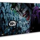 Joker Batman The Dark Knight Art 20x16 Framed Canvas Print Decor
