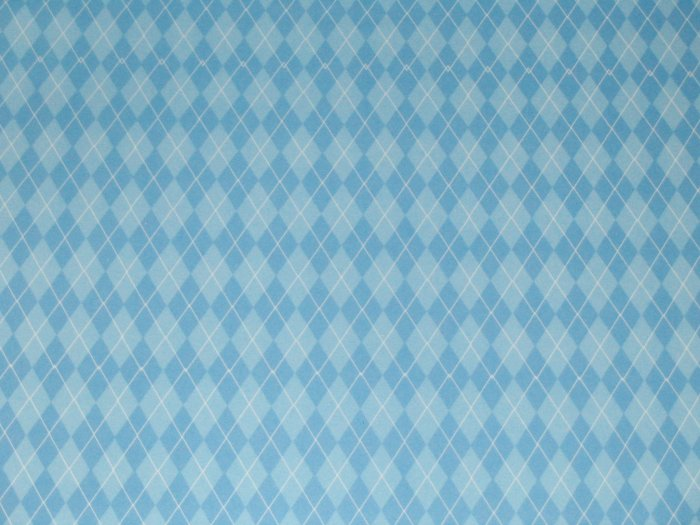 Light Blue Argyle Sweater