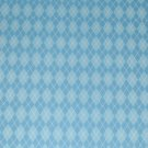 Light Blue Argyle Sweater