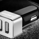 Portable Fast Car Charger with Power3S Technology 24W 2 Port 2.4A for iPhone