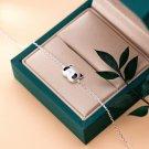 Cute Giant Panda 925 Sterling Silver Bracelet