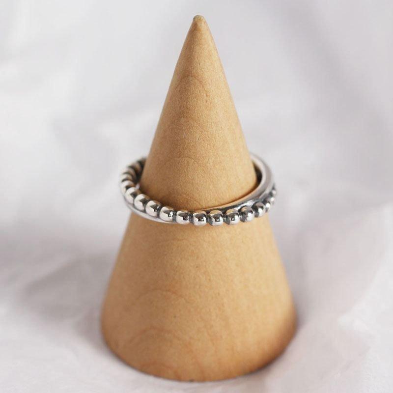 Vintage Praty 925 Sterling Silver Adjustable Ring