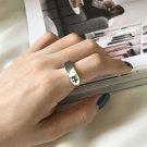Vintage Cross Simple 925 Sterling Silver Adjustable Ring