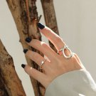 Geometry Cube 925 Sterling Silver Adjustable Ring