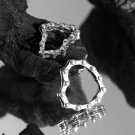 Vintage Bicycle Chain 925 Sterling Silver Ring