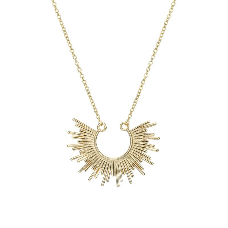 Sun 925 Sterling Silver Necklace