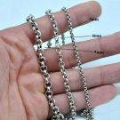 Flat Cable Thai Chain 925 Silver Necklace Men