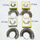 Ring Gauges Finger Sizer Measuring Ring Tool US EU JP Size