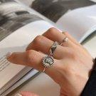 Vintage Smile Portrait 925 Sterling Silver Adjustable Ring