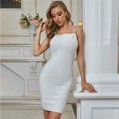 Strappy Sleeveless Backless Mini Bandage Dress