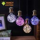 Led lamp e27 led bulb christmas string lights 110v 220v filament bulb g95 h