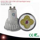 1pcs GU10 Base 9W 12W 15W HIGH POWER LED bulb White/Warm/Cool White AC/110V