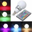 Hot Sale RGB LED Bulb Spotlight High Power E14/E27 9W AC85V 265V Dimmable L