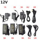 2A 3A 5A 6A 8A Led Power Supply Adapter 110V 220V to DC 12V Led Driver For
